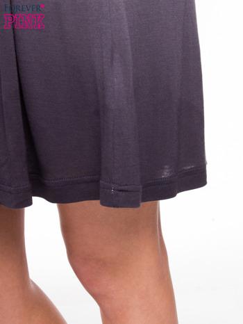 Szara sukienka na ramiączka z efektem ombre                                  zdj.                                  8