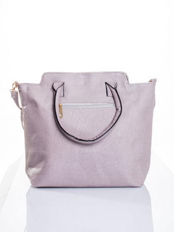 Szara torba shopper bag                                  zdj.                                  3