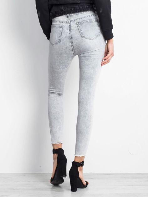 Szare jeansy Excavating                              zdj.                              2
