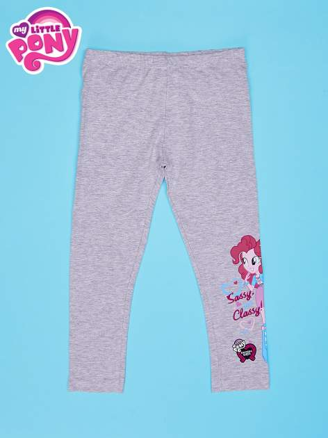 Szare legginsy dla dziewczynki motyw MY LITTLE PONY                                  zdj.                                  1