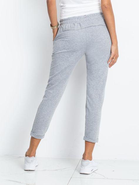 Szare spodnie Approachable                              zdj.                              2