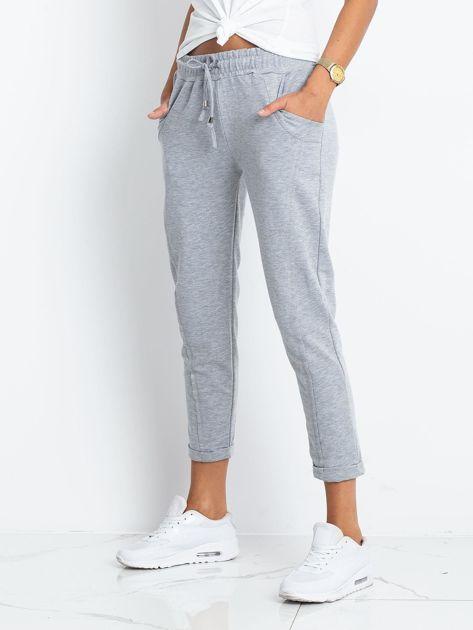 Szare spodnie Approachable                              zdj.                              3