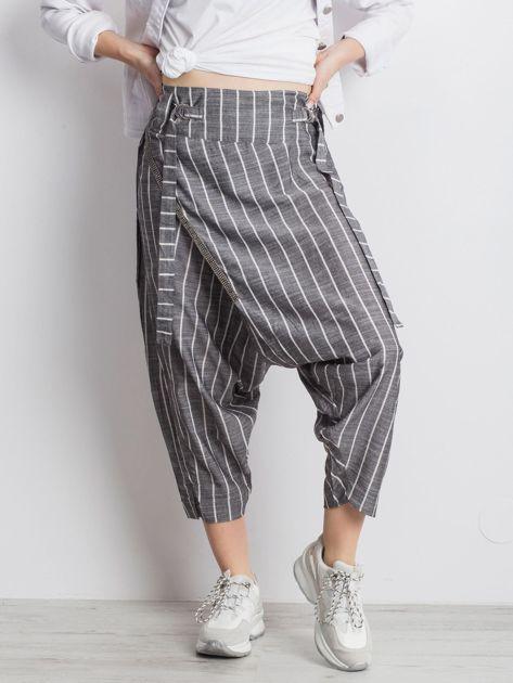 Szare spodnie Vibing                              zdj.                              1