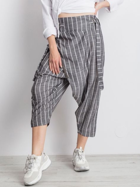 Szare spodnie Vibing                              zdj.                              5