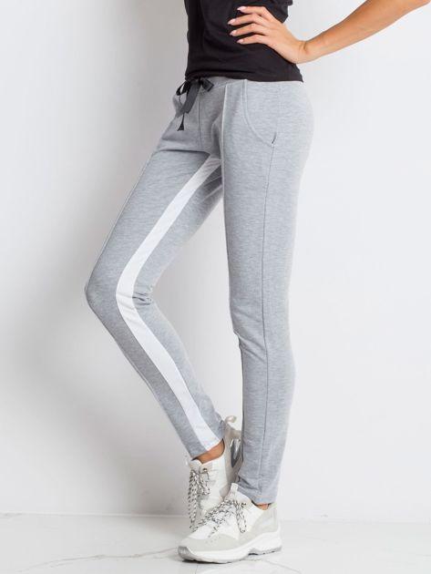 Szare spodnie dresowe Defined                              zdj.                              3