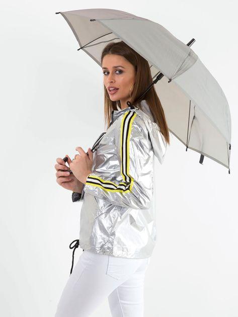 Szary długi parasol                              zdj.                              2