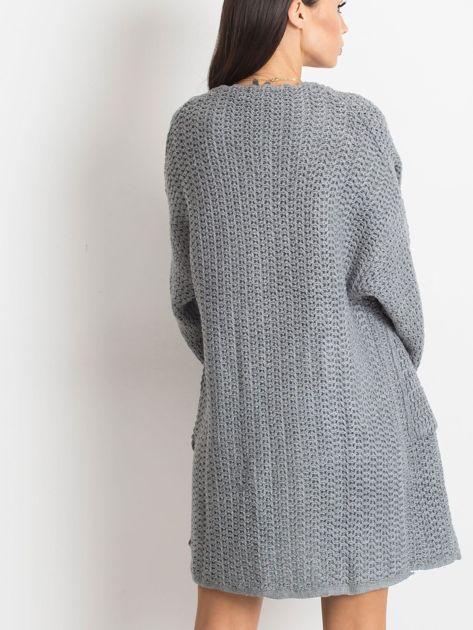 Szary sweter Luna                              zdj.                              2