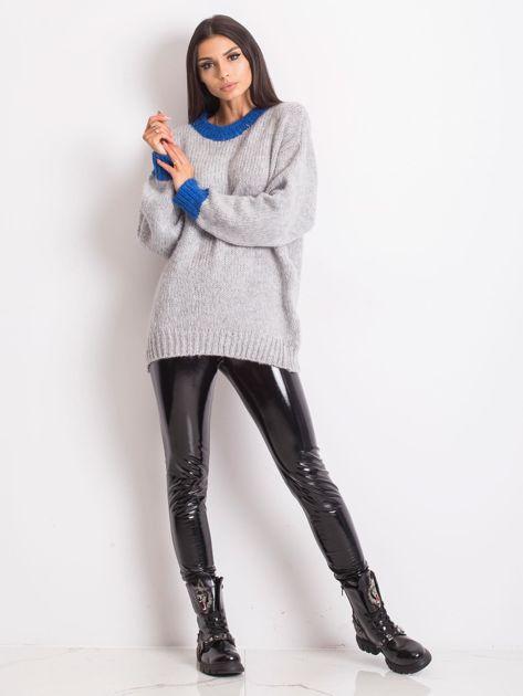 Szary sweter Pretty                              zdj.                              4