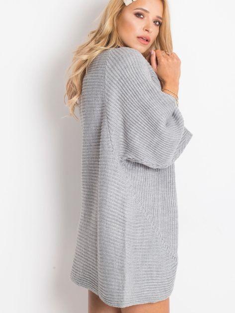Szary sweter Spotlight                              zdj.                              2