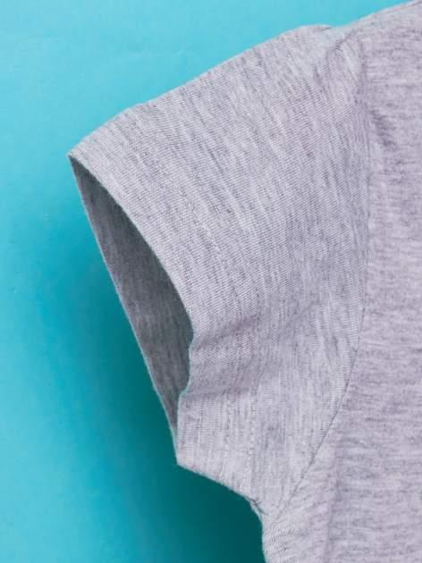 Szary t-shirt dla dziewczynki BARBIE                                  zdj.                                  6