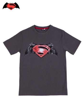 Szary t-shirt męski BATMAN V SUPERMAN                                  zdj.                                  9