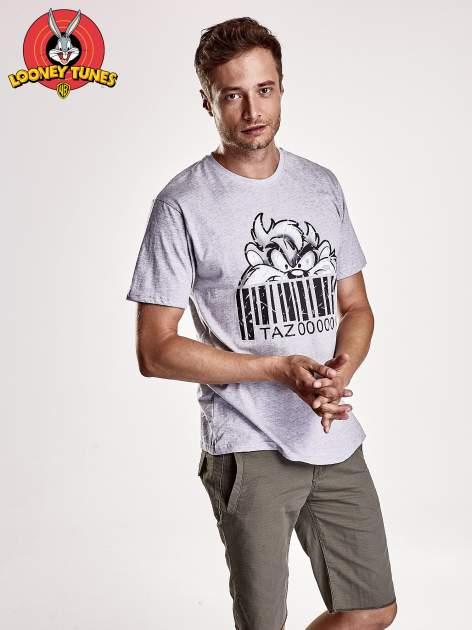 Szary t-shirt męski LOONEY TUNES                                  zdj.                                  1