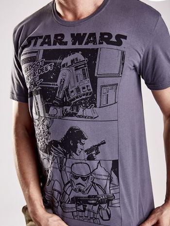 Szary t-shirt męski STAR WARS                                  zdj.                                  6