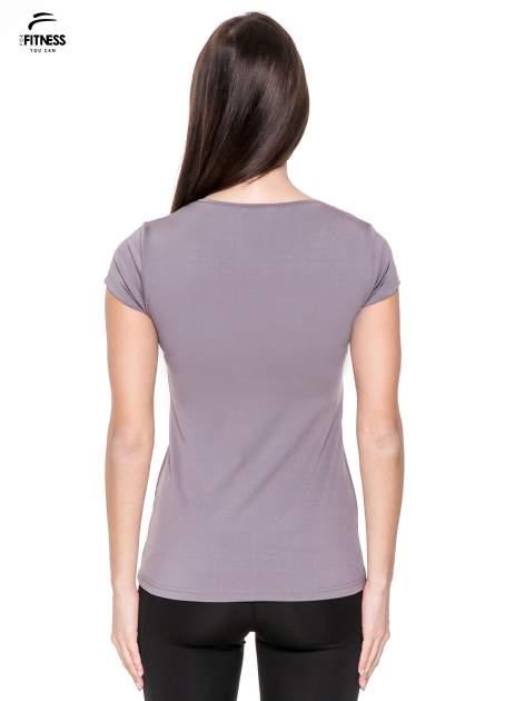Szary termoaktywny t-shirt sportowy typu basic ♦ Performance RUN                                  zdj.                                  2