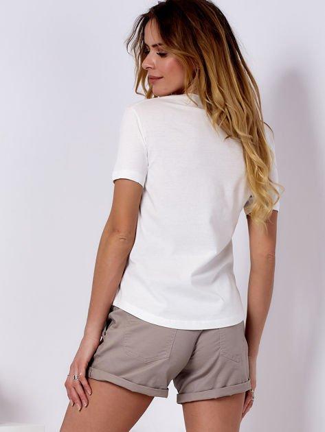 T-shirt ecru GIRL PRIDE                                   zdj.                                  2