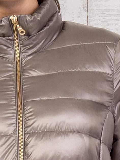 TOM TAILOR Brązowy dwuczęściowy płaszcz z kurtką pikowaną                                  zdj.                                  13