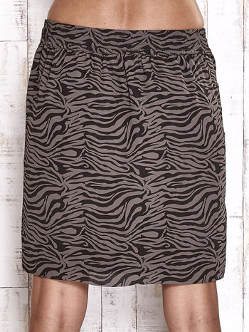 TOM TAILOR Czarna spódnica abstract print                                  zdj.                                  6