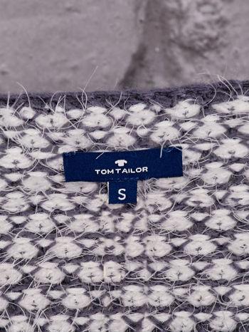 TOM TAILOR Niebieski sweter long hair                                  zdj.                                  4