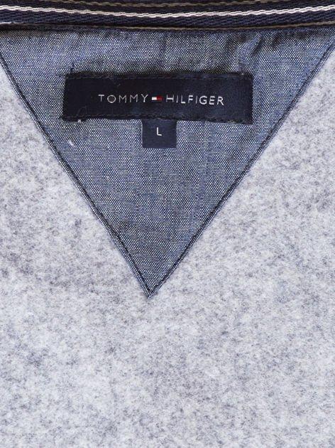TOMMY HILFIGER Ciemnoszara ocieplana bluza męska                               zdj.                              8