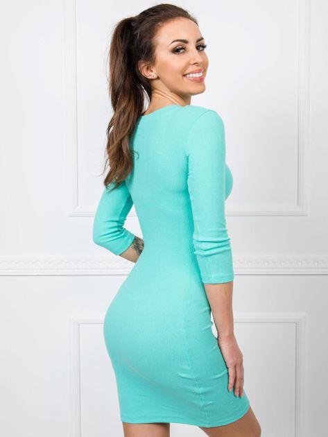 Turkusowa sukienka Kim RUE PARIS