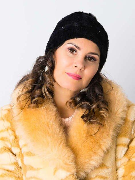 V&T Winter Fashion Szara Ocieplana Czapka Męska                              zdj.                              3