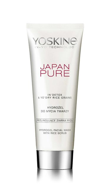 """Yoskine Japan Pure Hydrożel do mycia twarzy 150ml"""""""