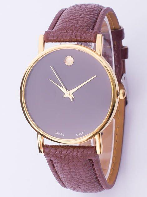 Zegarek damski Moon brązowy