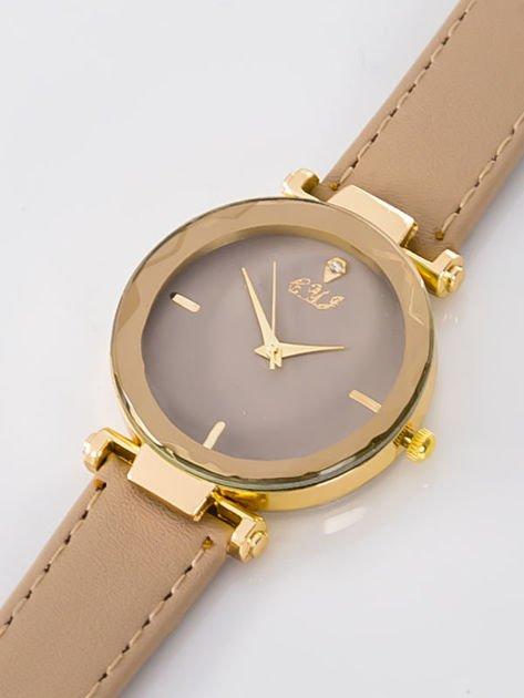 Zegarek damski beżowy                              zdj.                              2