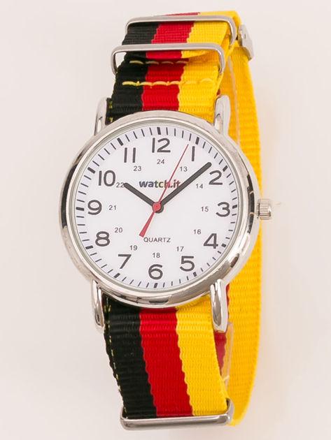 Zegarek damski na nylonowym pasku