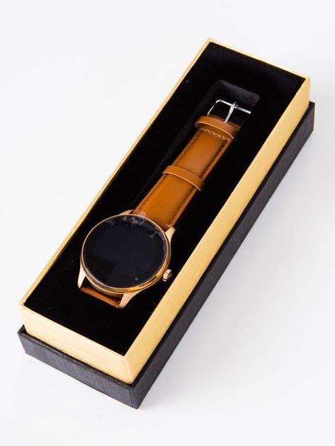 Zegarek smartwatch K88H brązowy Pulsometr Wodoodporny Siri                              zdj.                              1