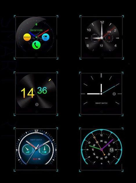 Zegarek smartwatch K88H brązowy Pulsometr Wodoodporny Siri                                  zdj.                                  16