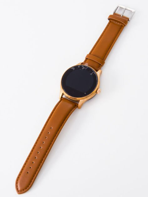 Zegarek smartwatch K88H brązowy Pulsometr Wodoodporny Siri                                  zdj.                                  3