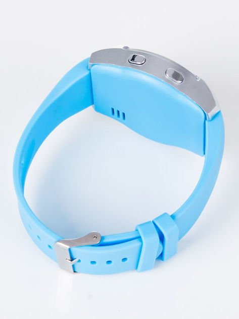 Zegarek smartwatch V8 błękitny Monitor snu, Krokomierz, Telefon                              zdj.                              3