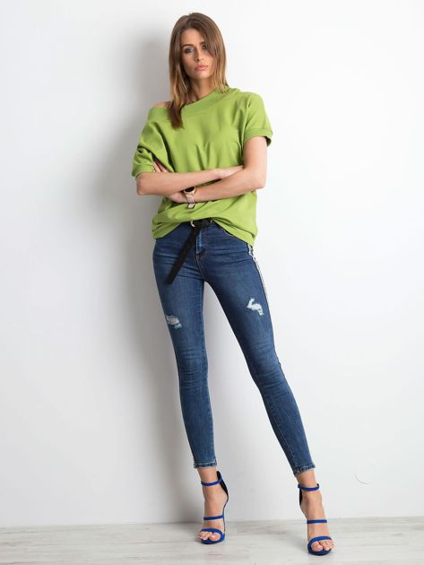 Jasnozielona bluzka Lemontree                              zdj.                              4