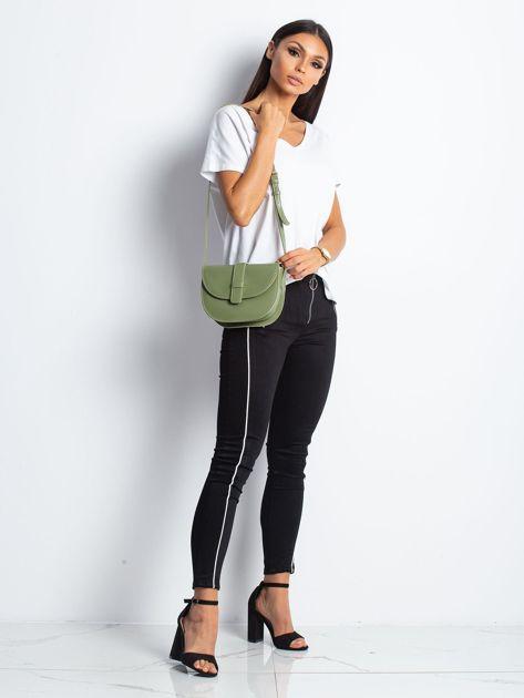 Zielona mała torebka miejska                              zdj.                              5