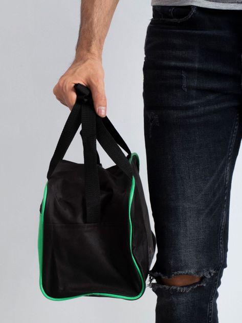 Zielona męska torba na ramię                              zdj.                              3