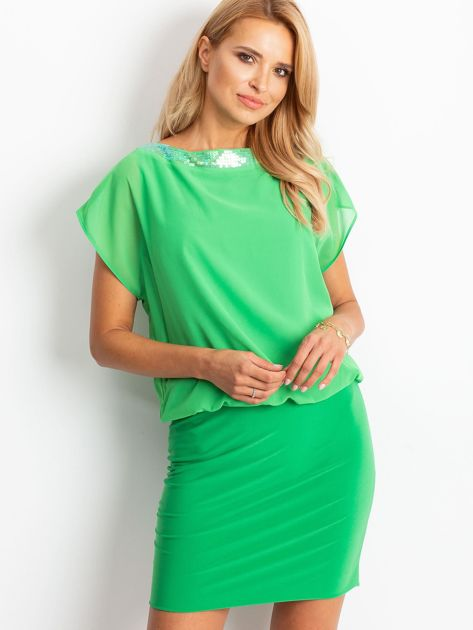 Zielona sukienka Light                              zdj.                              1