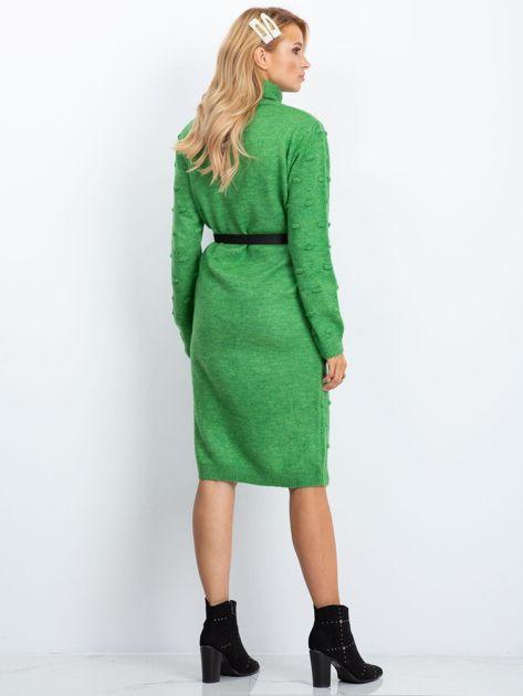 Zielona sukienka Silky                              zdj.                              2