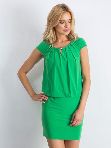 Zielona sukienka Transformative                              zdj.                              1
