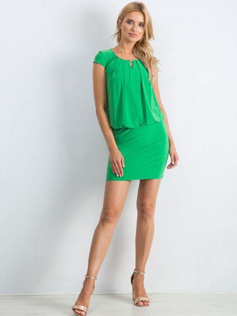 Zielona sukienka Transformative                              zdj.                              4