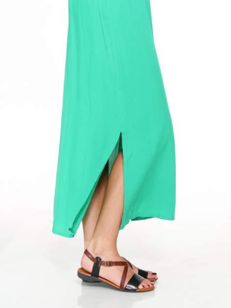Zielona sukienka w stylu greckim                                  zdj.                                  7