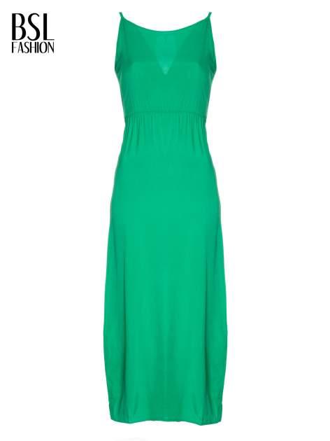 Zielona sukienka w stylu greckim                                  zdj.                                  4