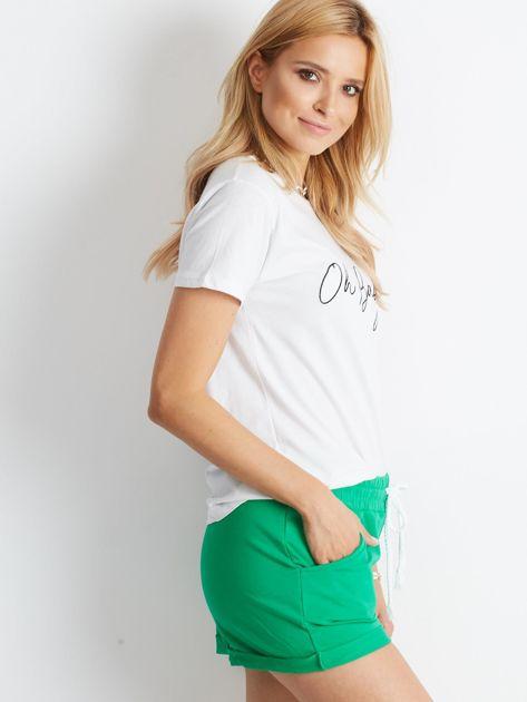 Zielone szorty Rejuvenate                              zdj.                              3