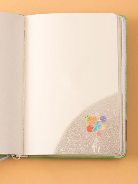 Zielony notes w twardej oprawie                              zdj.                              3