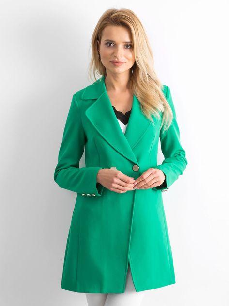 Zielony płaszcz Secret                              zdj.                              1
