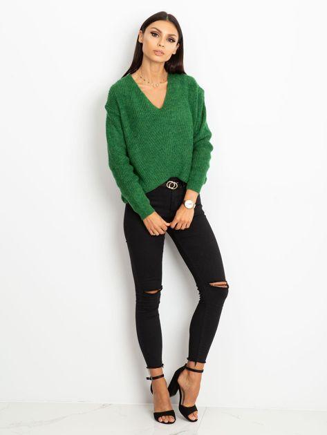 Zielony sweter Touch                              zdj.                              4