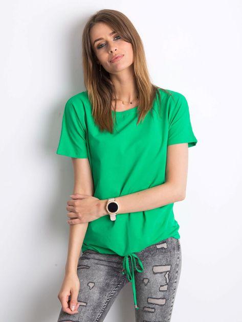Zielony t-shirt Curiosity                              zdj.                              3