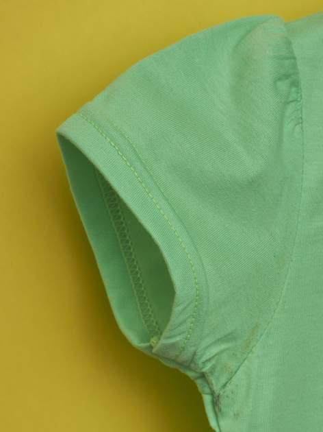 Zielony t-shirt dla dziewczynki HELLO KITTY                                  zdj.                                  6