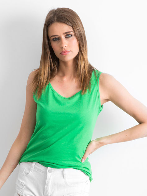 Zielony top