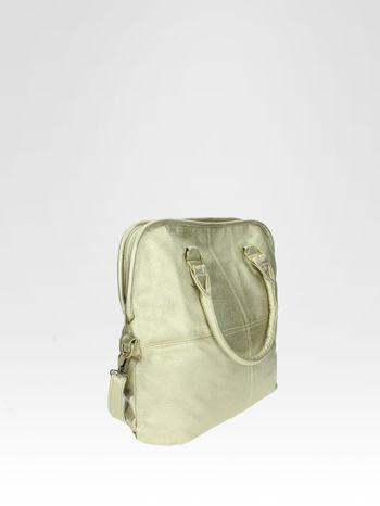 Złota torba miejska na ramię                                  zdj.                                  2